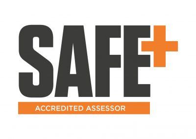 SafePlus Accredited Assessor Logo